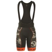 Alé PRR 2.0 Camo Bib Shorts - Black/Orange