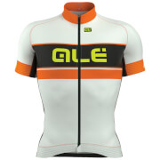 Alé Graphics PRR Bermuda Jersey - White/Orange
