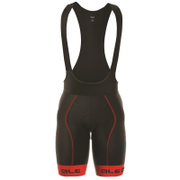 Alé PRR 2.0 Bermuda Bib Shorts - Black/Red