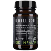 KIKI Health Krill Oil Softgels (30 Capsules)