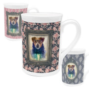 Dog Bone China Mug