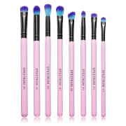 Spectrum Collections 8 Piece Eye Blending Brush Set - Pink