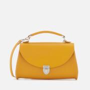 The Cambridge Satchel Company Women's Mini Poppy Bag - Mustard Saffiano