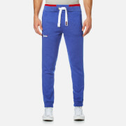 Superdry Men's Orange Label Tipped Joggers - Mazarine Blue Grit