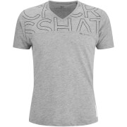 Crosshatch Men's Bellatrix T-Shirt - Light Grey Marl