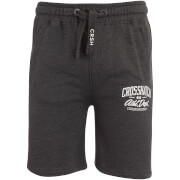 Crosshatch Men's Digs Jog Shorts - Charcoal Marl