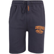 Shorts Digs Jog Crosshatch - Bleu Nuit