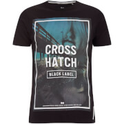 Crosshatch Men's Broadwalk Graphic T-Shirt - Black