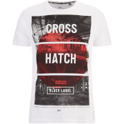 Crosshatch Men's Hotspot Graphic T-Shirt - White