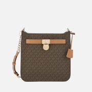 MICHAEL MICHAEL KORS Women's Hamilton Medium North South Messenger Bag - Brown