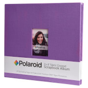 Polaroid 8x8 Inch Fabric Covered Scrapbook Album