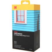 80 Papiers Photo + Cartouche pour Imprimante Kodak Dock