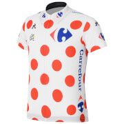 Le Coq Sportif Children's Tour de France 2017 King of the Mountains Official Jersey - Red/White