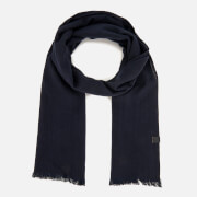 BOSS Orange Men's Navid Scarf - Dark Blue
