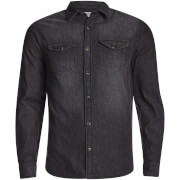 Jack & Jones Men's Originals Rone Denim Shirt - Black