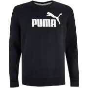 Puma Men's Essential Crew Neck Sweatshirt - Black