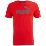 T-Shirt Essential Logo Puma -Cerise