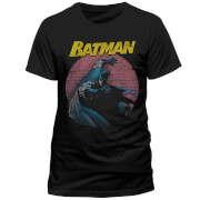 DC Comics Batman Retro Spotlight T-Shirt - Black