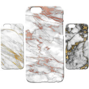 Marble Texture Phone Case for iPhone and Android - Gold Marbles