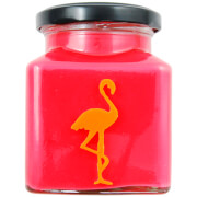 Cranberry, Orange and Cinnamon Explosion Flamingo Candle