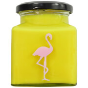 Banana Pancakes Flamingo Candle