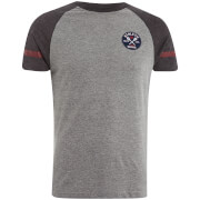 Brave Soul Men's Nurmi T-Shirt - Grey Marl