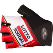 Lotto Soudal Mitts - Red/White
