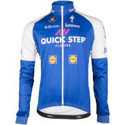 Quick-Step Long Sleeve Jersey - Blue/White