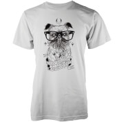 Abandon Ship Digby Van Winkle Heren T-shirt - Wit