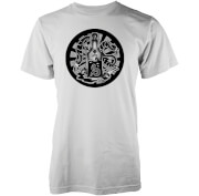 Abandon Ship Men's Whisky T-Shirt - White