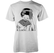 Abandon Ship Skull Girl Heren T-shirt - Wit