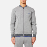 BOSS Hugo Boss Men's Authentic College Jacket - Medium Grey