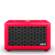 Akai Retro Bluetooth Speaker (2 x 12.5W) - Red