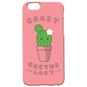 Crazy Cactus Lady Phone Case For iPhone & Android