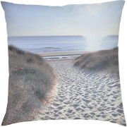 Beach Walk Cushion - Blue (45 x 45cm)