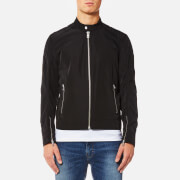 BOSS Orange Men's Olawton Nylon Biker Jacket - Black