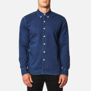 Levi's Men's Pacific No Pocket Shirt - Indigo Black Stone