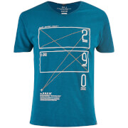 T-Shirt Homme Kapola Smith & Jones -Bleu Lyon