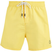 Smith & Jones Men's Antinode Swim Shorts - Yellow Cream