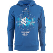 Smith & Jones Men's Elevation Hoody - Classic Blue