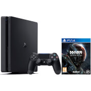 Sony PlayStation 4 Slim 500GB Console - Inludes Mass Effect Andromeda