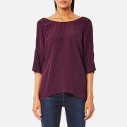 Samsoe & Samsoe Women's Marnis Top - Potent Purple