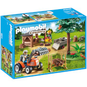 Playmobil Country Lumber Yard with Tractor (6814)
