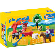 Playmobil 1.2.3 Petting Zoo (6963)