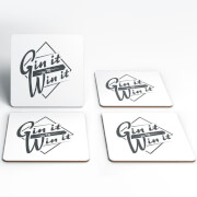 Gin It To Win It Coasters