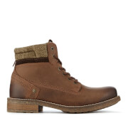 Wrangler Men's Hill Tweed Lace Up Boots - Chestnut