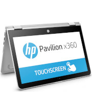 "HP 11-K100NA 11.6"" Touch-Screen Laptop (Intel Celeron N3050, 4GB, 500GB, 1.6GHz, Windows 10) - Silver - Manufacturer Refurbished"