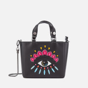 KENZO Women's Icons Top Handle Bag - Black