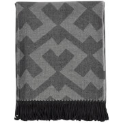 GANT Home Bursa Throw - Anthracite
