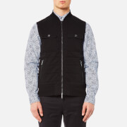 Michael Kors Men's Quilted Knitted Vest - Black